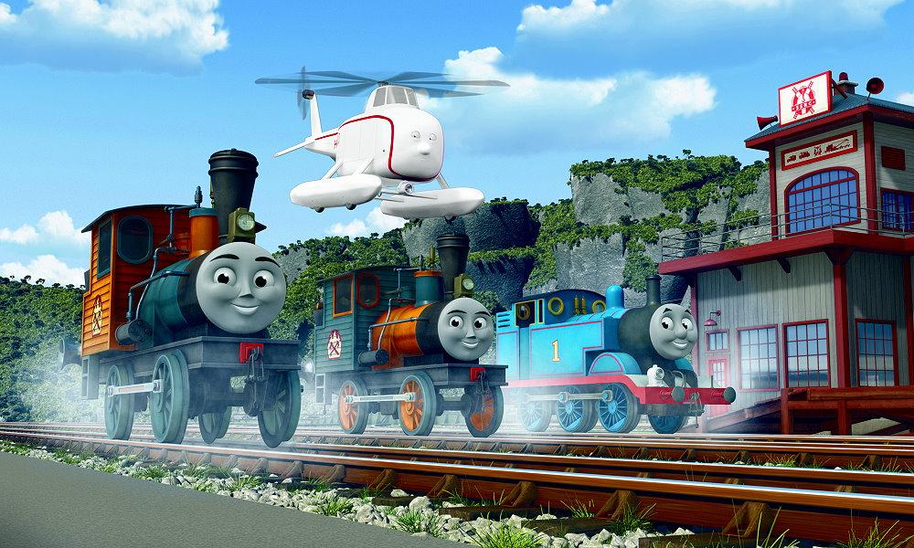 Tomek i przyjaciele szleją na torach