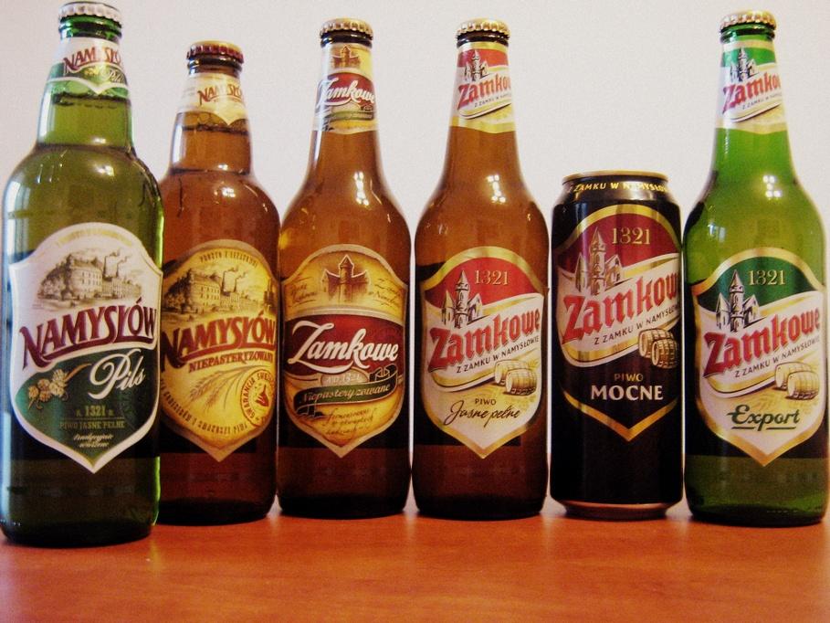 Browar Namysłów - moc piwa