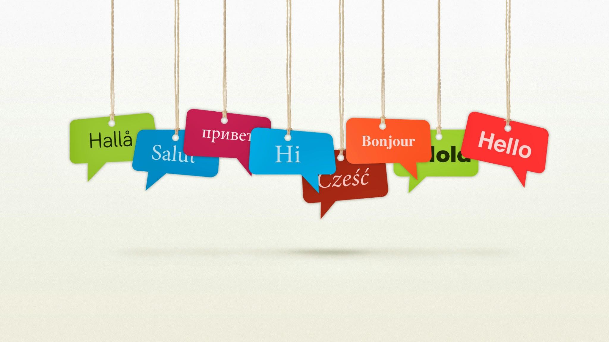 Przywitaj się w obcym języku