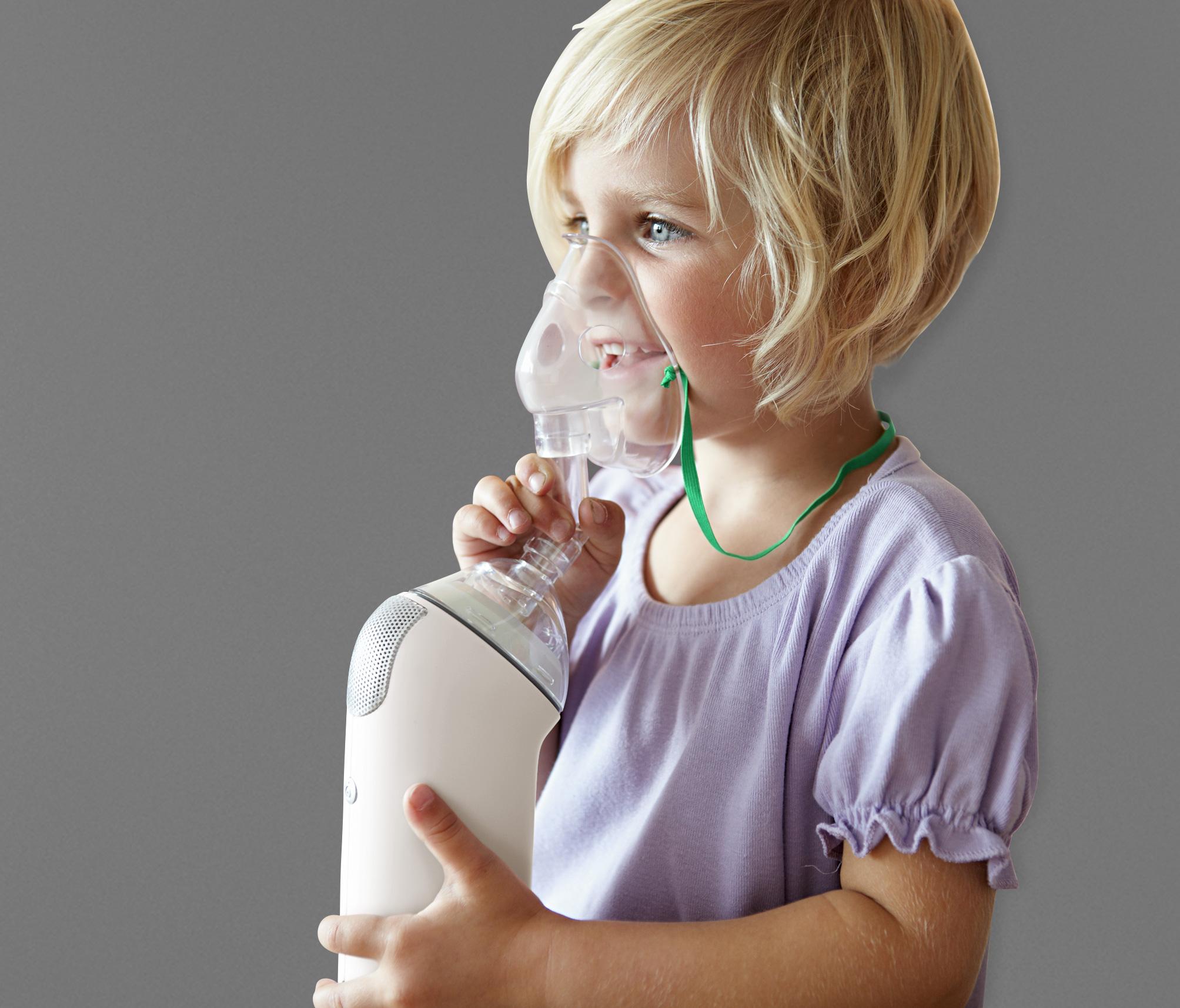 Inhalacja dziecka to dobry sposób na nawilżenie dróg oddechowych
