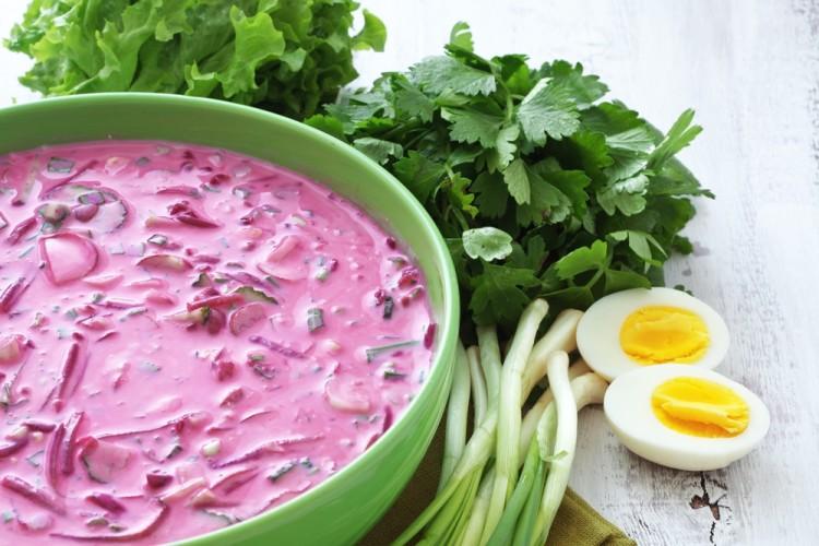 Chłodnik litewski to najpopularniejsza zupa na zimno w Polsce