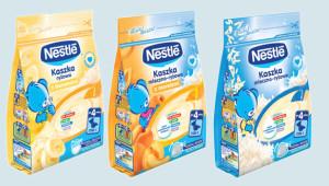 Kaszki Nestle to zdrowa i pełnowartościowa propozycja posiłku dla niemowlaka i małego dziecka