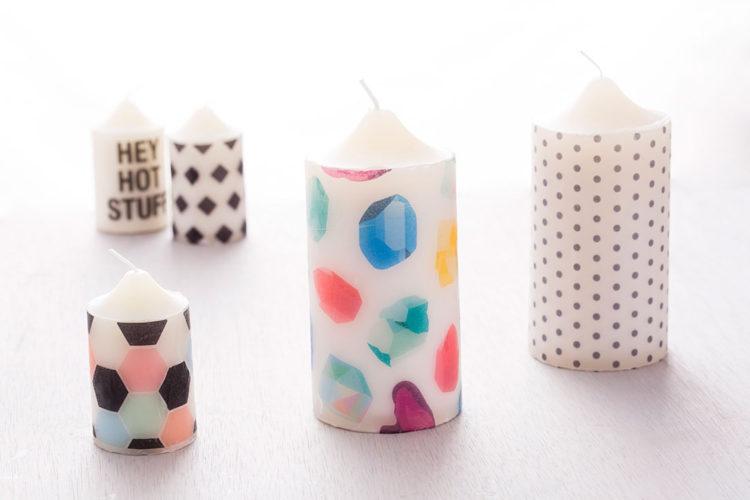Świeczki można kupić w wielu rozmiarach, kolorach, kształtach i zapachach. Można je też sobie zrobić!