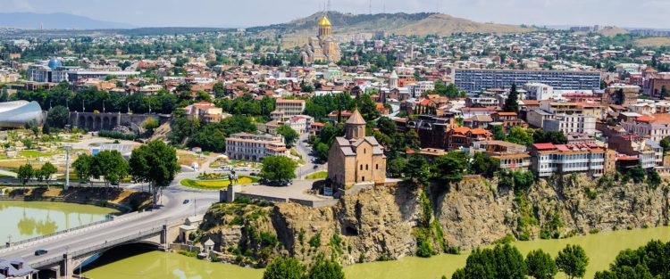 Tibilisi to największe gruzińskie miasto i stolica kraju równocześnie