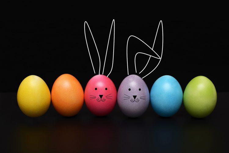 Wielkanoc to przede wszystkim jajka, im bardziej kolorowe - tym lepiej
