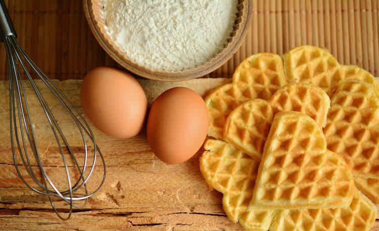 Gofry na śniadanie to pyszny pomysł dla małych i dużych