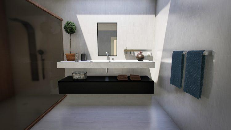 Kwiatek w łazience to oryginalna i gustowna ozdoba